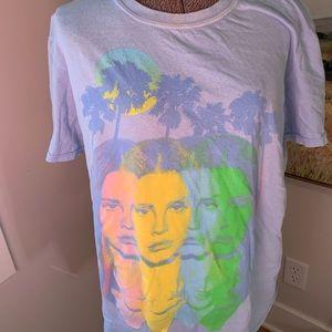 Tops - Lana Del Ray Concert Tee — size medium